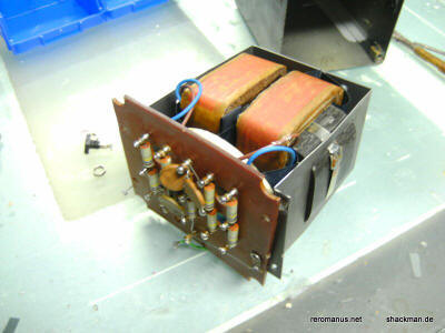 ESL57 transformer dismantled